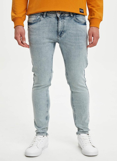 DeFacto Martin Super Skinny Fit Jean Pantolon Yeşil